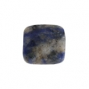 Sodalite 16mm. Facetted Square 11pcs Approx